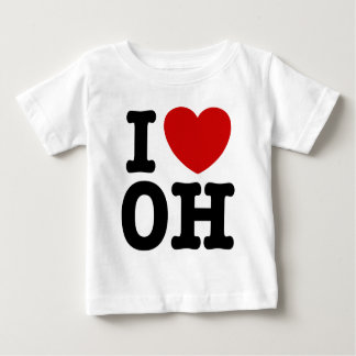 I Love OH T-shirt