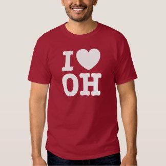 I Love OH T Shirt