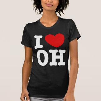 I Love OH Tee Shirt