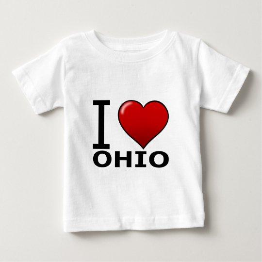 I LOVE OHIO BABY T-Shirt