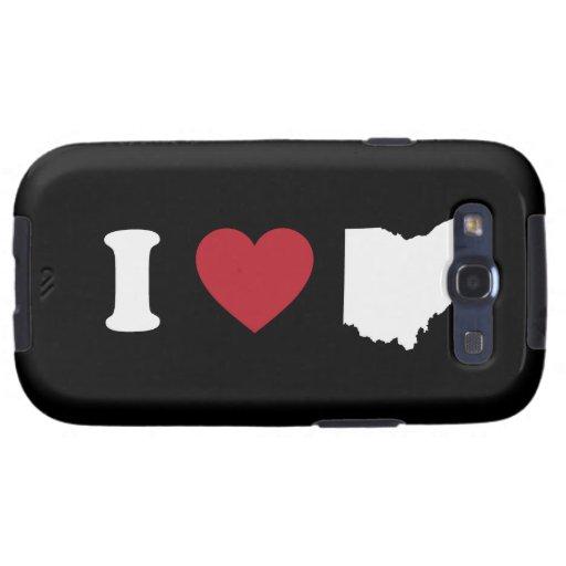 I Love Ohio Galaxy S3 Cover