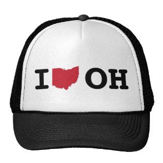 I Love Ohio Hat