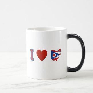 I Love Ohio Magic Mug