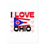 I Love Ohio Post Card