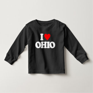 I LOVE OHIO TODDLER T-SHIRT