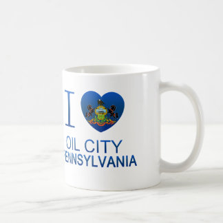 I Love Oil City, PA Coffee Mug