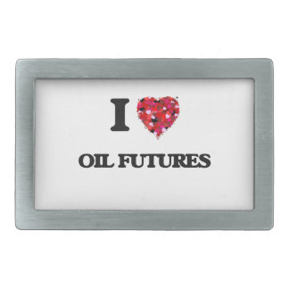 I Love Oil Futures Belt Buckles