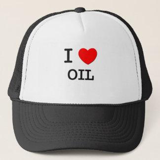 I Love Oil Trucker Hat