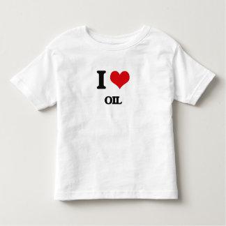 I Love Oil T-shirts