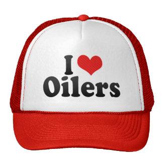 I Love Oilers Trucker Hat