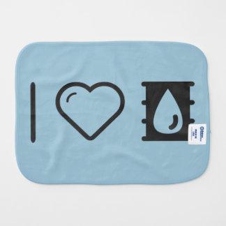I Love Oils Burp Cloth