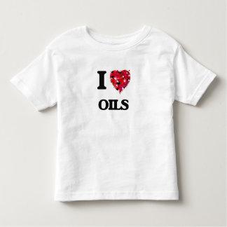 I Love Oils Tees