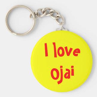 I love Ojai Keychain