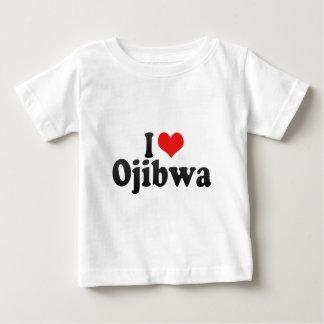 I Love Ojibwa Baby T-Shirt