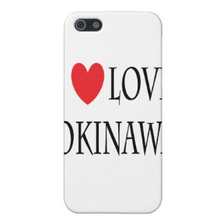I love Okinawa Cover For iPhone SE/5/5s