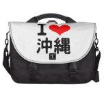 I Love Okinawa Laptop Bags