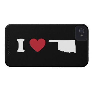I Love Oklahoma Case-Mate iPhone 4 Cases
