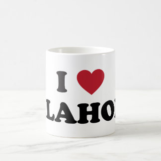 I Love Oklahoma Coffee Mug
