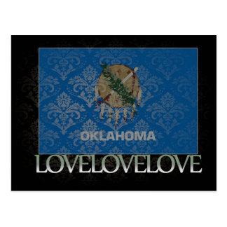 I love Oklahoma Cool Postcard