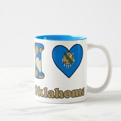 I love Oklahoma Koffie Beker