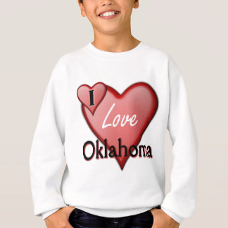 I Love Oklahoma Sweatshirt