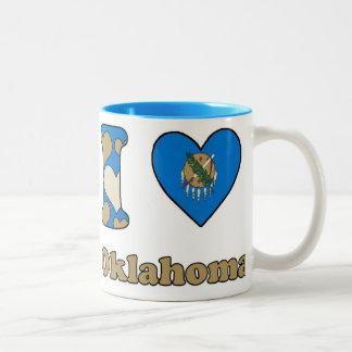 I love Oklahoma Two-Tone Coffee Mug