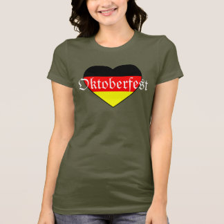 I Love Oktoberfest - Germany Shirt for Girls