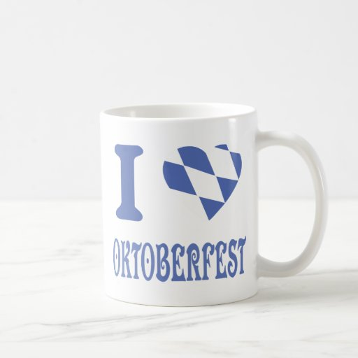 I love oktoberfest mug