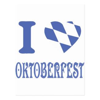 I love oktoberfest postcard