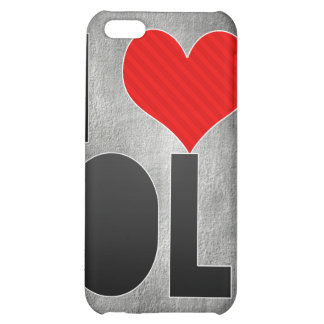 I Love OL Cover For iPhone 5C