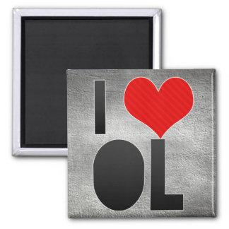 I Love OL Magnet