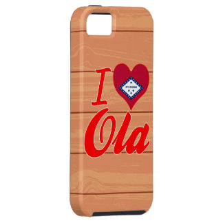 I Love Ola, Arkansas iPhone 5 Cover