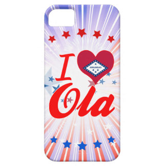 I Love Ola, Arkansas iPhone 5 Covers