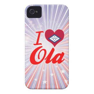 I Love Ola, Arkansas iPhone 4 Cover
