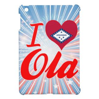 I Love Ola Arkansas iPad Mini Case