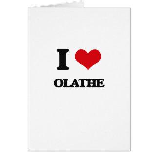 I love Olathe Cards
