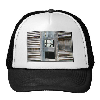 I love old barns! trucker hat