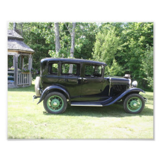 I love old cars photo print