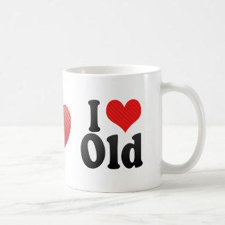 I Love Old Classic White Coffee Mug