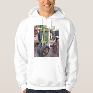 I love old green tractors hoodie