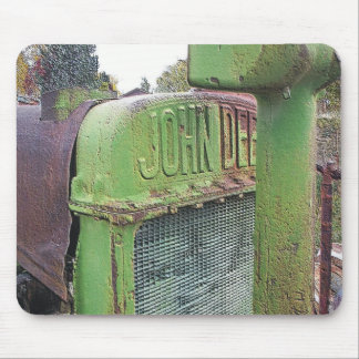 I love old green tractors mouse pad