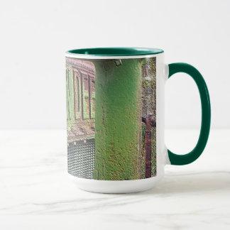 I love old green tractors mug