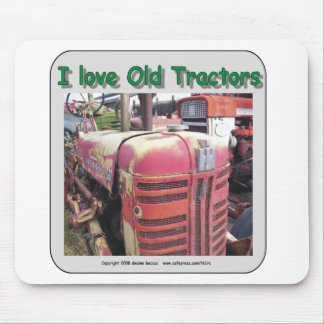 I love old International Harvester tractors Mouse Pad