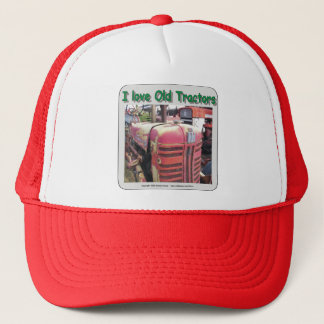 I love old International Harvester tractors Trucker Hat