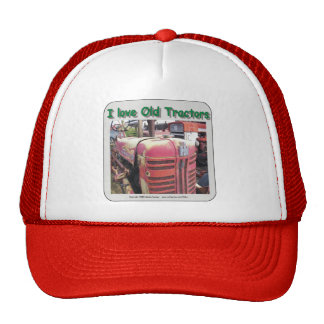 I love old International Harvester tractors Trucker Hat