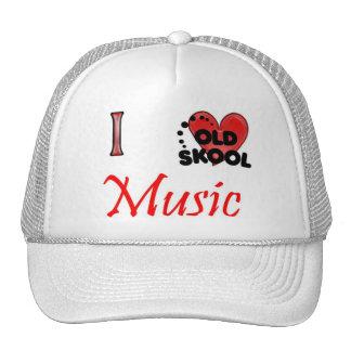 I love Old School Music Trucker Hat