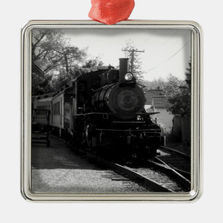 I love old trains - Arcade and Attica Railroad Christmas Tree Ornament