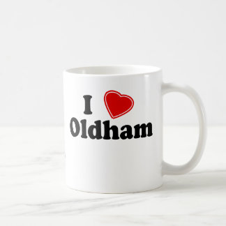 I Love Oldham Coffee Mug