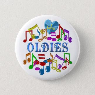 I Love Oldies Button