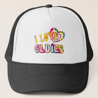 I LOVE OLDIES TRUCKER HAT